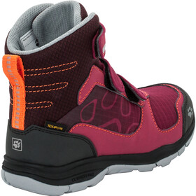 Jack Wolfskin Grivla Texapore VC High Shoes Girls dark ruby
